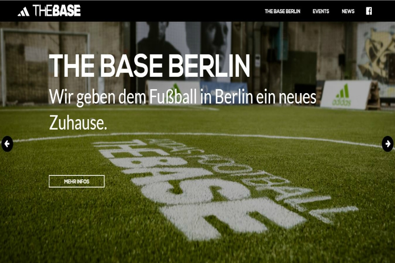 Adidas – The base Berlin